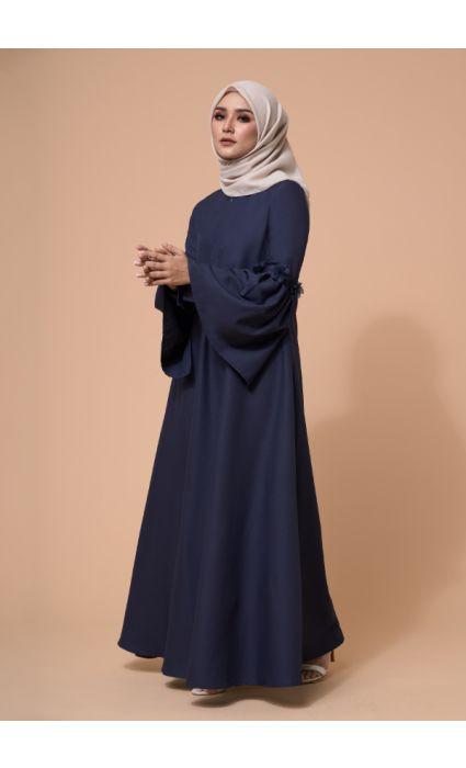 Barqa Dress Midnight Blue