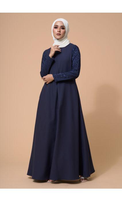 Karina Dress Midnight Blue