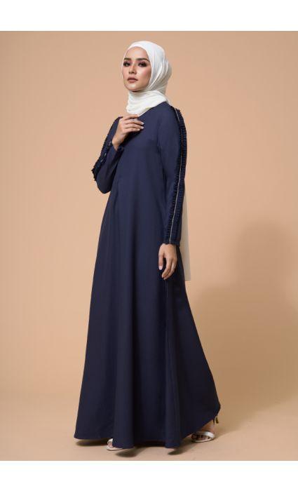 Zara Dress Midnight Blue