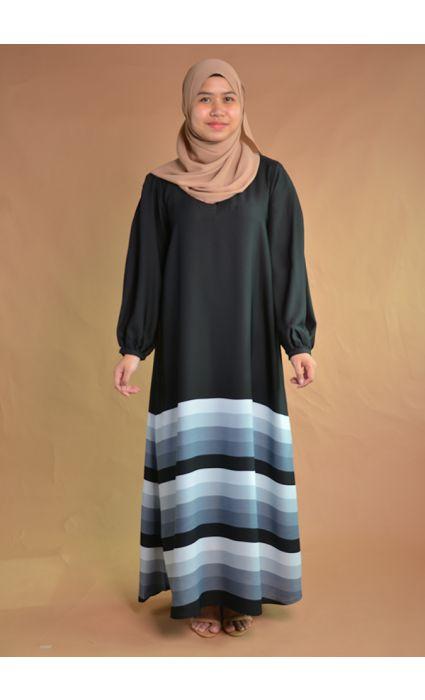 Daneen Abaya Mirage Gray - Tall