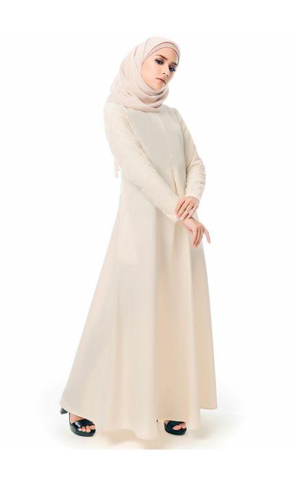 Qaseh Dress Cream