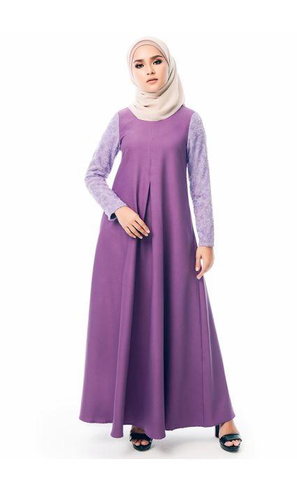 Qaseh Dress Purple