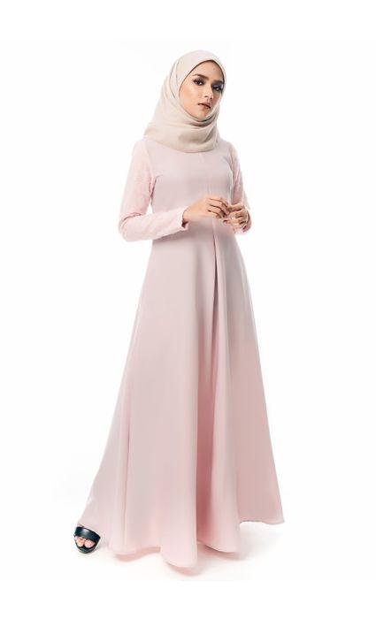 Qaseh Dress Scallop