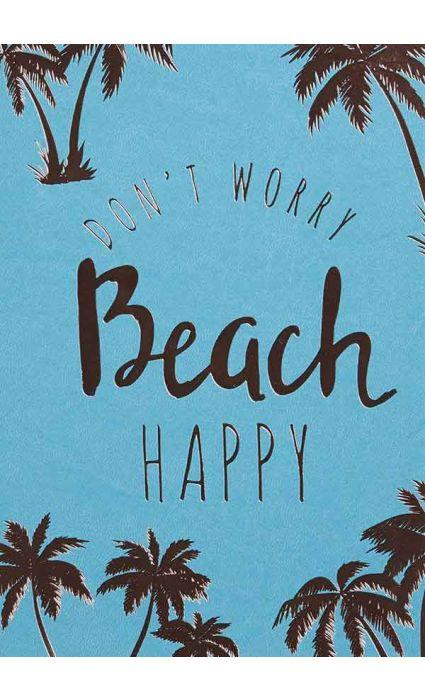 Note Book - Beach Happy