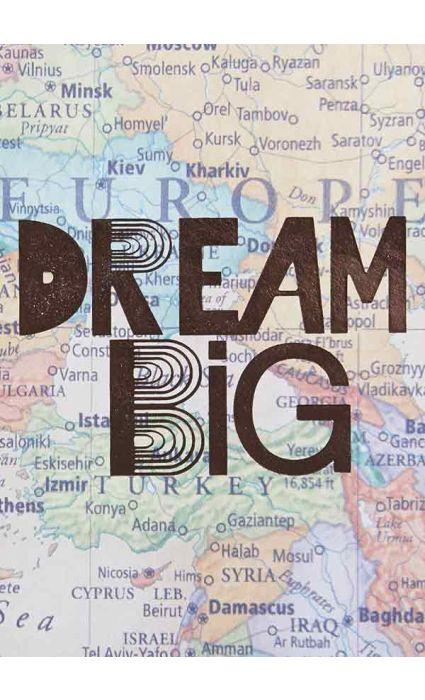 Note Book - Dream Big