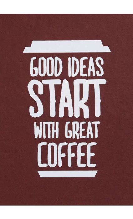 Note Book - Good Start With Coffee