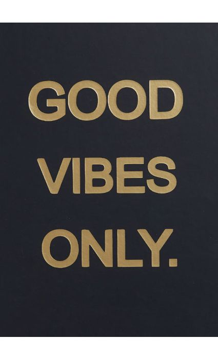 Note Book - Good Vibes Only