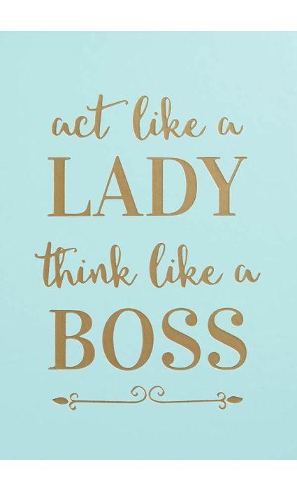 Note Book - Lady Boss
