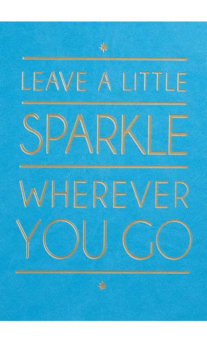 Note Book - Leave a Sparke
