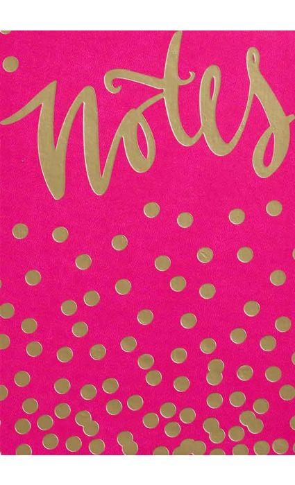 Note Book - Notes Fuchsia