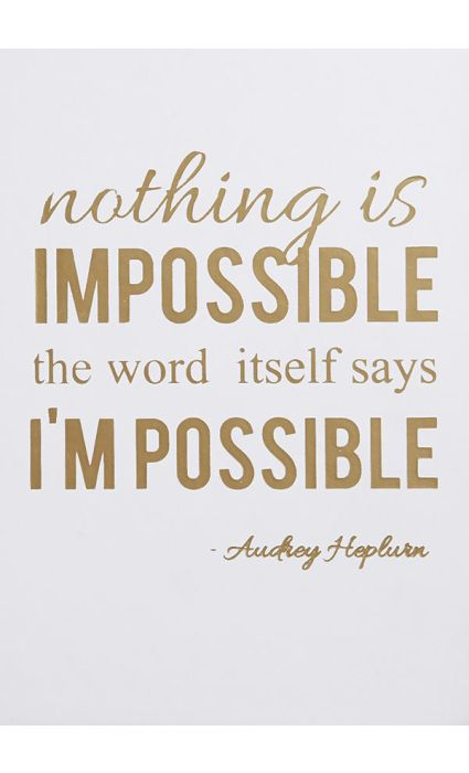 Note Book - Nothing is Impossible