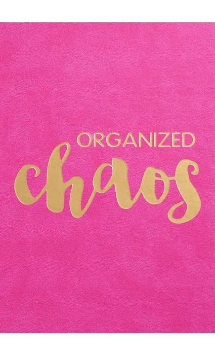 Note Book - Organized Chaos
