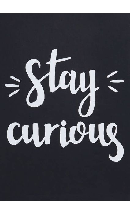 Note Book - Stay Curious