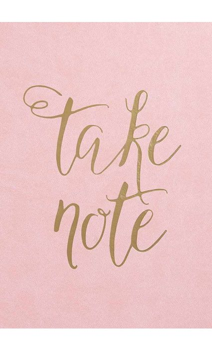 Note Book - Take Note