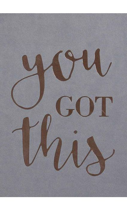 Note Book - You Got This