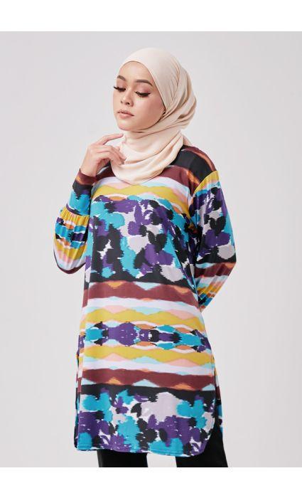 Nubia Top Berry Purple