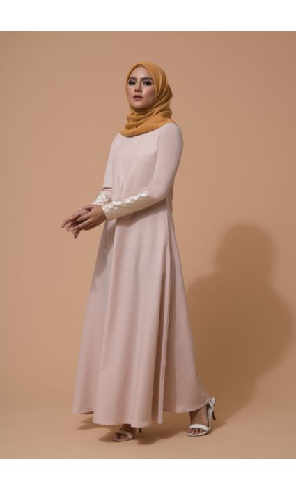 Raffa Dress Nude