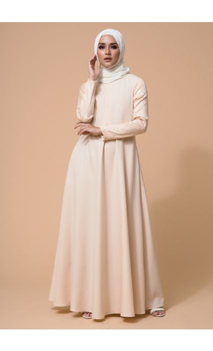 Karina Dress Pearl Ivory