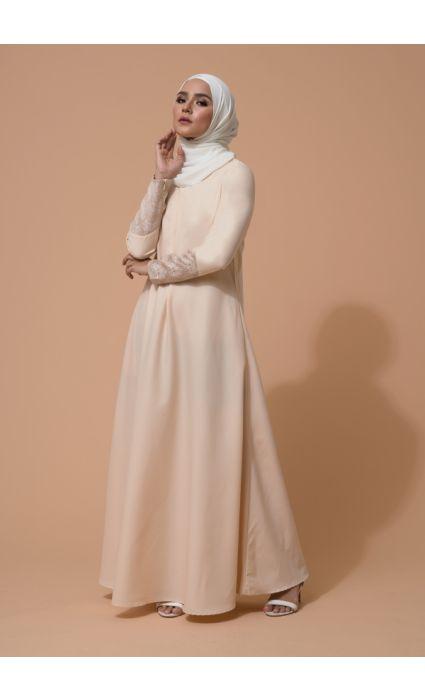 Raisa Dress Pearl Ivory