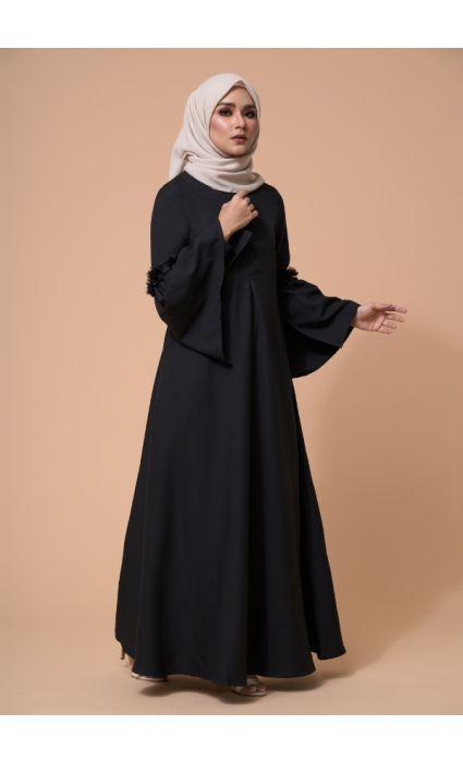 Barqa Dress Phantom Black