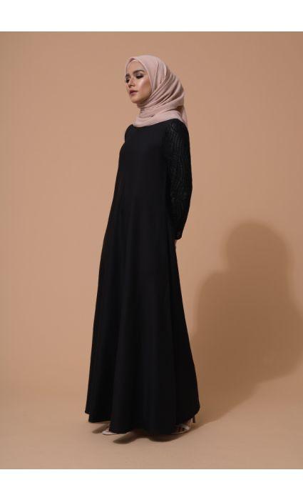 Mahira Dress Phantom Black