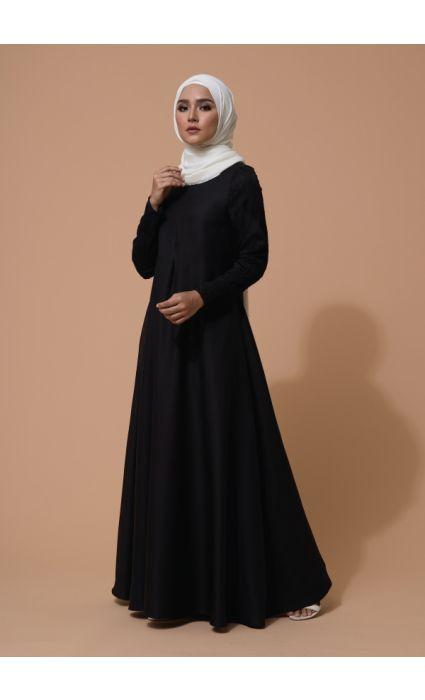 Alea Dress Phantom Black
