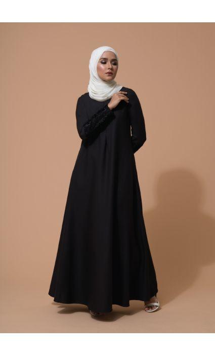 Farha Dress Phantom Black