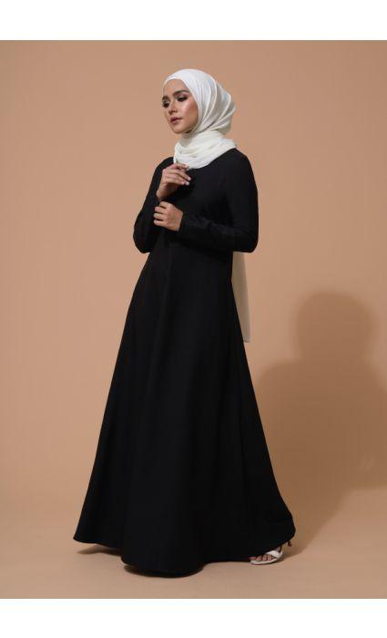 Ulfa Dress Phantom Black