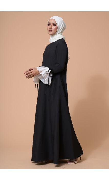 Gia Dress Phantom Black