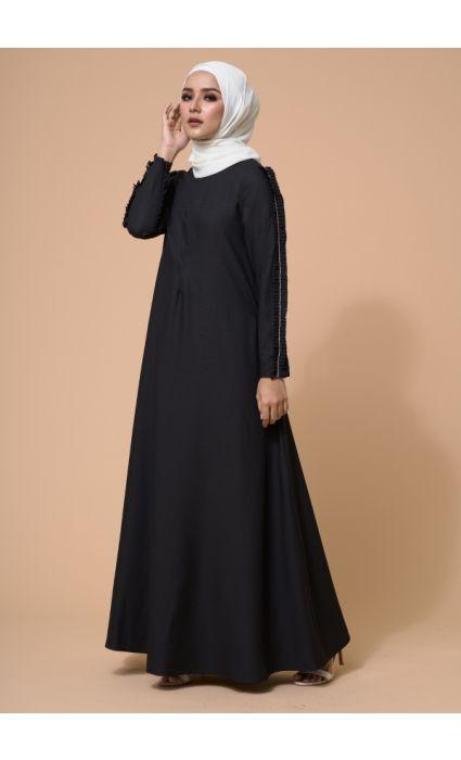 Zara Dress Phantom Black