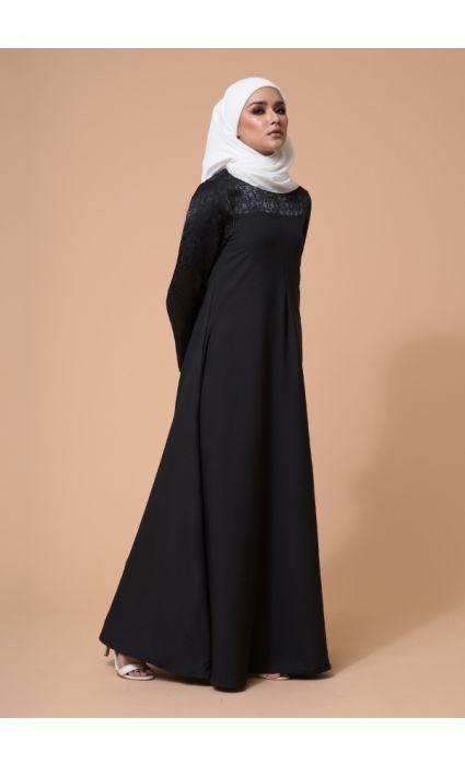 Raahi Dress Phantom Black