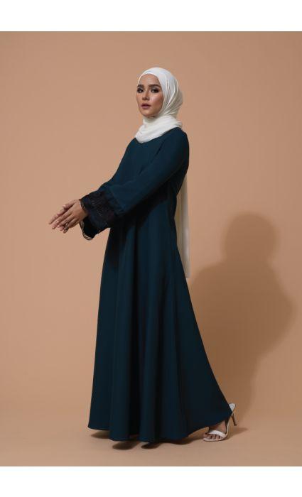 Aifa Dress Pine Green