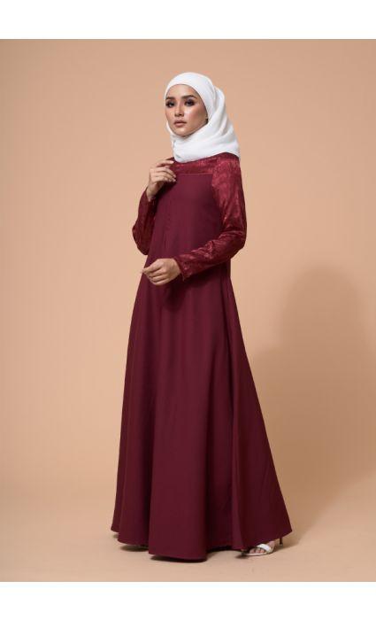 Raahi Dress Ruby Red