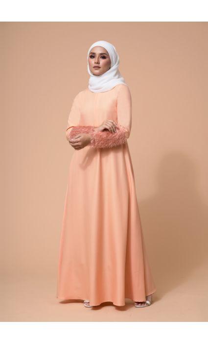 Amna Dress Salmon