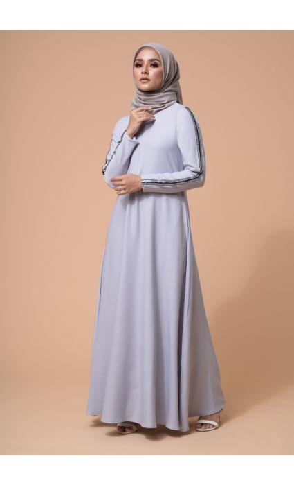 Jaeda Dress Sleet Gray