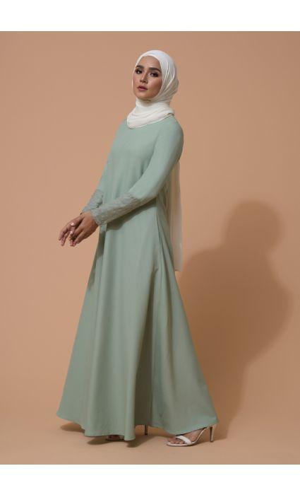 Ulfa Dress Smoke Green