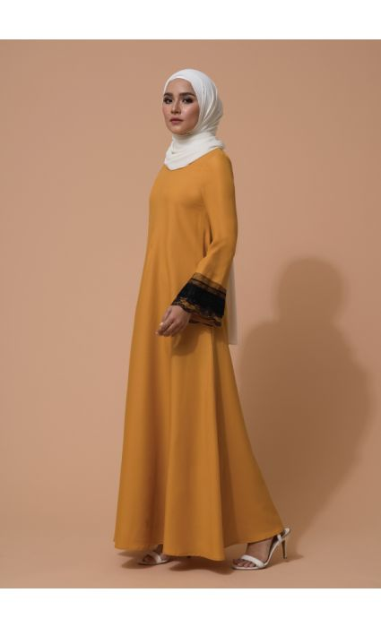 Aifa Dress Spectra yellow
