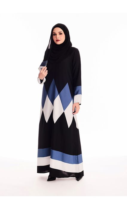 Tayiba Abaya True Blue