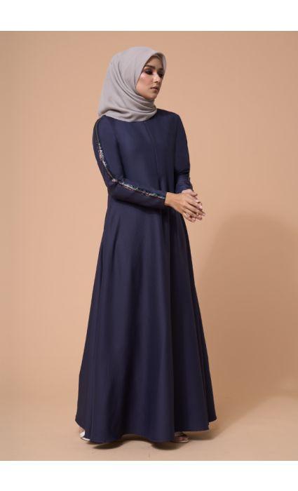 Jaeda Dress Midnight Blue