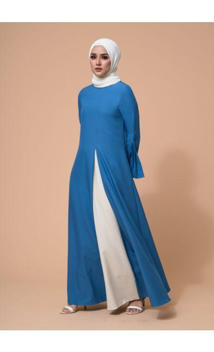 Eyza Dress Vivid Blue