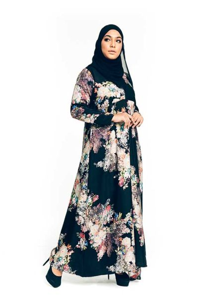 Ansa Dress Plum Purple