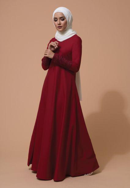 Ulfa Dress Barn Red