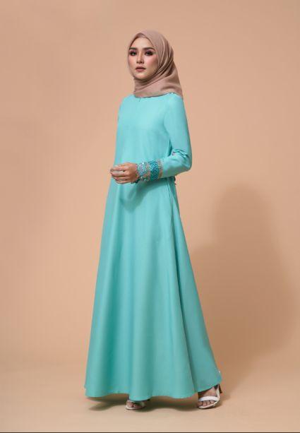 Amira Dress Biscay Green