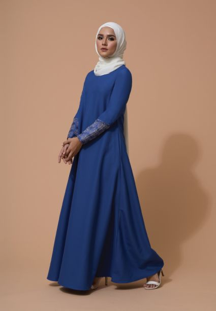 Raisa Dress Dazzling Blue