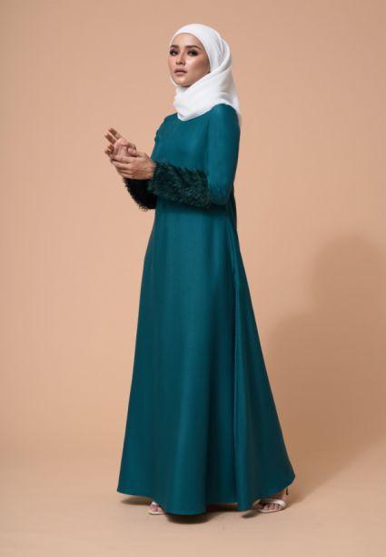 Amna Dress Ever Green