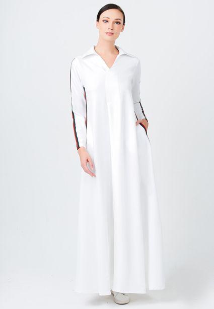 Gorgeous Dress Marble White
