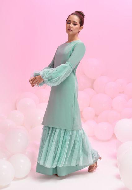 Grace Dress Mint Green
