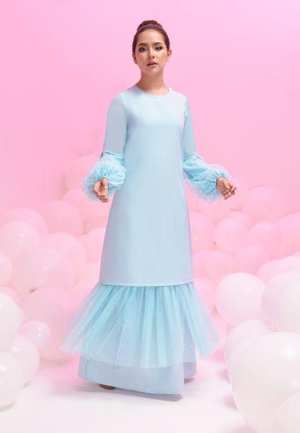 Grace Dress Winter Sky