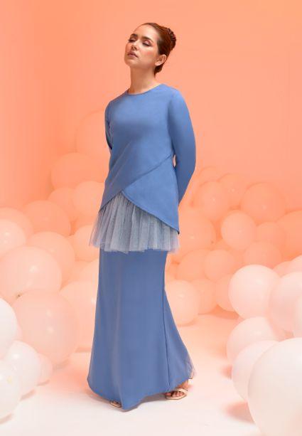 Laura Kurung Sweedish Blue