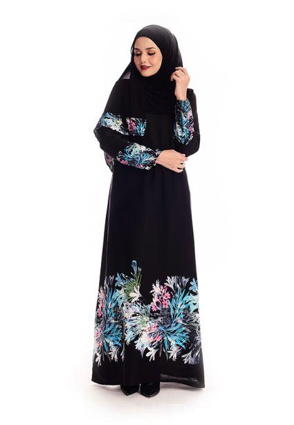 Maryam Abaya  Orion Blue